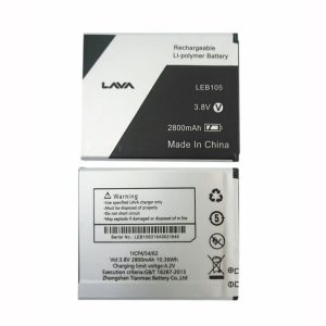 New phone battery for Lava LEB105