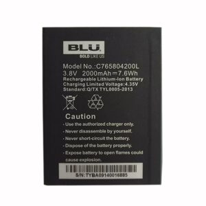 New phone battery for BLU C765804200L