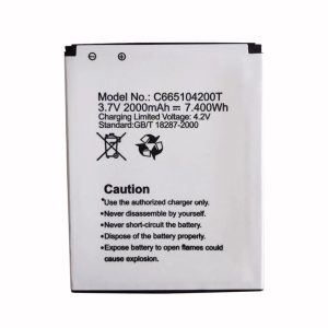 New phone battery for BLU C665104200T