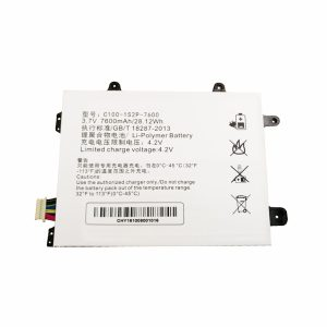 New Tablet battery for C100-1S2P-7600,HASEE PCPAD X5