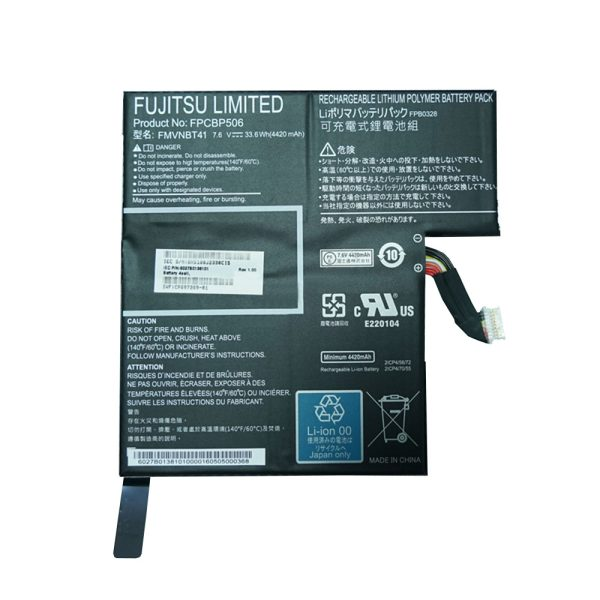 New laptop battery for FUJITSU Stylistic R726 R727